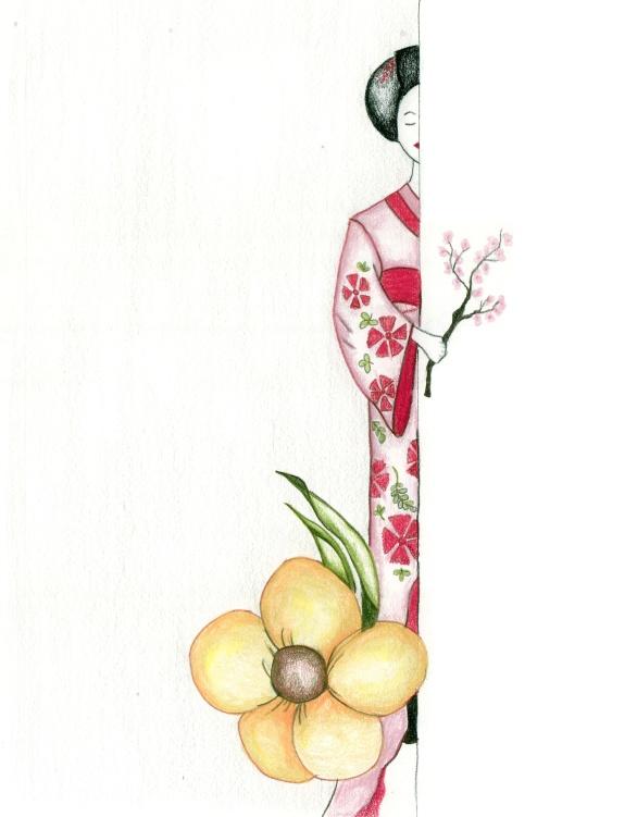 shy geisha